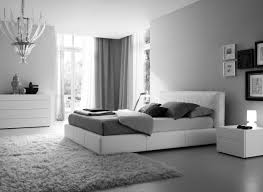 Small Grey Bedroom Bedroom Contemporary Small Gray Bedroom With Yellow Accent And L