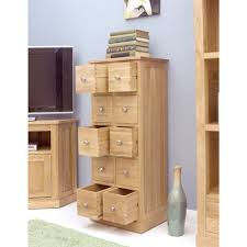 mobel oak drawer lamp home bonsoni mobel oak multi drawer dvd cd storage chest baumhaus mobel oak drawer