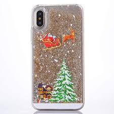 Fusicase for iPhone Xs Max <b>Liquid</b> Case <b>Christmas</b> Case Style ...
