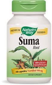 Nature's Way <b>Suma Root</b> (Brazilian Adaptogen), <b>1,500 mg</b> per ...
