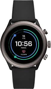 Fossil <b>Men's</b> Sport Metal and Silicone Touchscreen <b>Smartwatch</b>