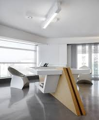 minimalist modern office space award winning office design