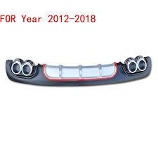 Modified Decorative Modification <b>Front Tuning Car Rear</b> Diffuser Lip ...