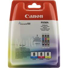 Оригинальные <b>картриджи Canon</b> CLI-8C (голубой), <b>CLI</b>-<b>8M</b> ...