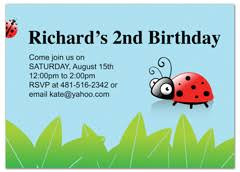 Download Kids Boy Girl Printable MS Word Birthday Invitation ... Kids Polka Dots Ladybug Birthday Invitation Wording