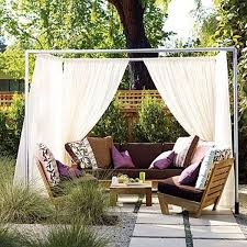 view in gallery a diy private cabana for your patio captivating design patio ideas diy