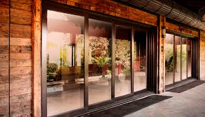 sliding doors glazed double