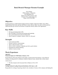 objective for bank resume  seangarrette coobjective