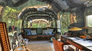 vintage restored airstream amazing home offices 3