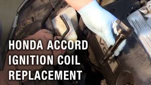 Honda Accord <b>Ignition Coil</b> Replacement - YouTube