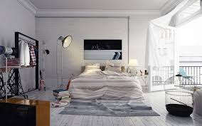 modern bedroom concepts:   loft style bedroom