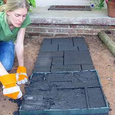 Bluel Over Pave 51 cm Garden <b>DIY Plastic Path</b> Maker Model Road ...