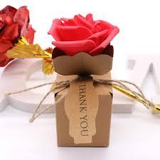 <b>bag 10pcs</b> Romantic Kraft <b>DIY Vintage</b> paper Candy Boxes Gift
