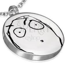 MEME FACE charm - SURPRISED OPEN MOUTH | Jewellery Eshop EU via Relatably.com