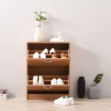 Panana <b>Shoe</b> Rack <b>Solid Wood Shoe</b> Storage Cabinet <b>Footwear</b> ...