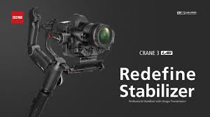 Redefine Stabilizer | <b>Zhiyun CRANE 3 LAB</b> - YouTube