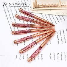 NORRATH Stationery <b>Rose Gold Metal</b> Ballpoint <b>Pen</b> Luxury <b>Pen</b> ...
