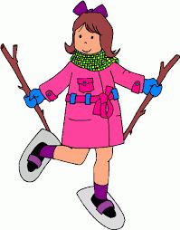 Résultats de recherche d'images pour «clipart raquettes à neige»