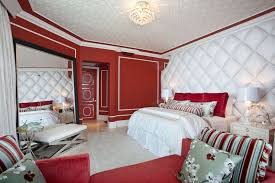 red wall paint black bed:  images about hot in red bedrooms on pinterest red bedrooms bedroom red and bedroom ideas
