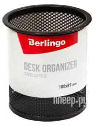 Купить <b>Подставка</b>-<b>стакан Berlingo Steel &</b> Style Black BMs_41102 ...