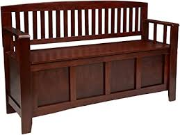 "Linon Home Dcor Linon Home Decor Cynthia <b>Storage Bench</b>, 50""wx ..."