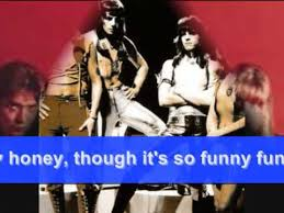 THE <b>SWEET</b> - <b>FUNNY</b> FUNNY: 1971 (with words) - YouTube
