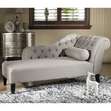 baxton studio aphrodite tufted putty gray linen modern chaise lounge chairs bedroom handy living chaise calm chaise lounge chairs