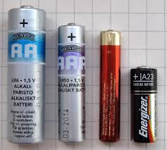 <b>Батарея A23</b> — Википедия