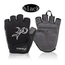 <b>Bike</b> Fitness Half Finger <b>Gloves</b> Shock Absorbing Silicone <b>Outdoor</b> ...