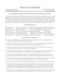 human resources resume skills cipanewsletter