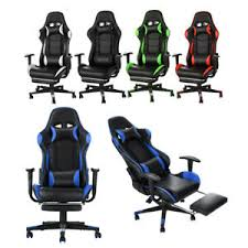 <b>Leather Gaming Chair</b> in Chairs for sale | eBay