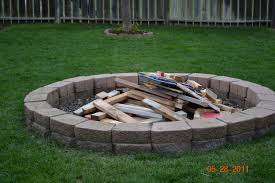 diy fire pit patio brick brick patio fire pit ideas gorgeous picture of garden landscaping deco