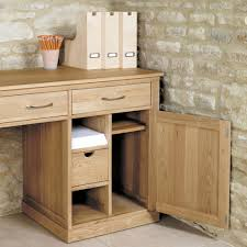 mobel oak large hidden office twin pedestal desk chadwick satin lacquered oak hidden