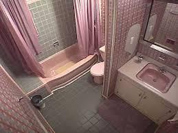 pink bathroom counter