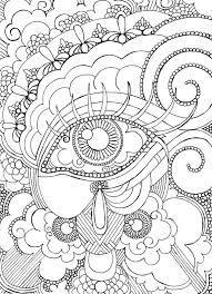 Small Picture Eye Want To Be Colored Adult Coloring Page by PersoNatalieArt