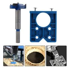 35mm <b>Hinge</b> Jig Hole Saw For <b>Cabinet Hinge</b> Installation Pocket ...