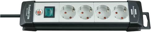 1951540101 <b>Brennenstuhl удлинитель Premium</b>-<b>Line</b>, 5 м., <b>4</b> ...