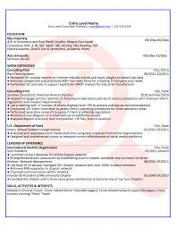entry level consultant sample résumé 2 zoomdojo entry level consultant sample résumé 2