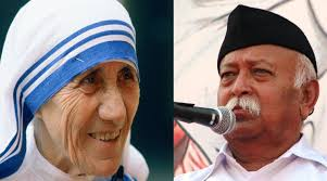 Mother Teresa  mohan bhagwat  RSS  Ghar Wapsi  conversions  Christianity The Indian Express