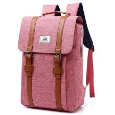 <b>Women Canvas Backpack</b> Casual Rucksacks Female 15 inch <b>laptop</b> ...