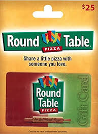 Round Table Pizza Gift Card $25: Gift Cards - Amazon.com