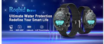 <b>Rogbid</b> Brave Smartwatch Now Available at $179.99| Mid Year Sale ...