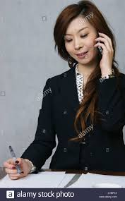 chinese career women on the phone stock photo royalty image chinese career women on the phone