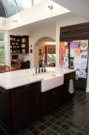 private residence inspiration for a timeless kitchen remodel in richmond with a farmhouse sink and quartzite architecture kitchen decorations delightful pendant kitchen