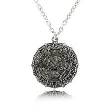 Модный круглый металлический античный серебряный цвет ...