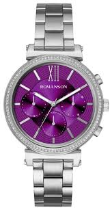 Купить Наручные <b>часы ROMANSON RM8A38FLW</b>(<b>WINE</b>) по ...