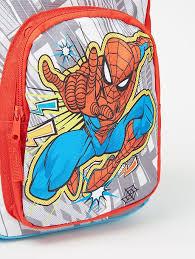 <b>Marvel</b> The Amazing <b>Spider</b>-<b>Man</b> Comic <b>Print</b> Backpack | Kids ...