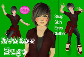 Second Life Marketplace - PRINCESS AVATAR KIDS BOY HUGO - avatar%20hugo1_001%20c%C3%B3pia