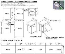 images about bird house plans on Pinterest   Bird Feeder    Black capped Chickadee Bird House Plans