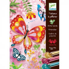<b>Раскраска Блестящие бабочки</b>, <b>Djeco</b> 09503 - 1'500 руб - купить в ...